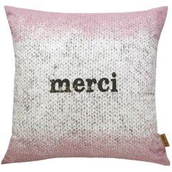 Cushion-merci pink