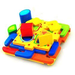 다양한 모양만들기 diy입체 도형 퍼즐