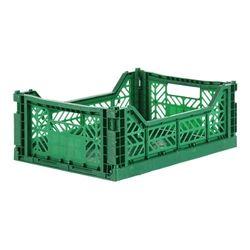 아이카사 폴딩박스 M dark green