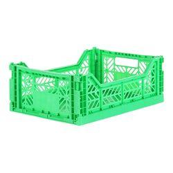 아이카사 폴딩박스 M light green