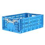 폴딩박스 L blue_Active Lock 22cm (손잡이)