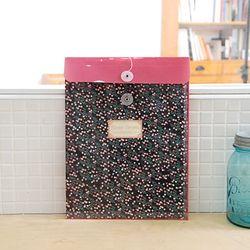 LIFESTYLE Flower Garden 릴타입 PVC 화일백