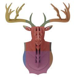 사슴머리장식 컬러 헌팅트로피 (L size) color hunting trophy