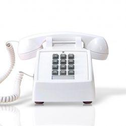 [코텔코] Made in USA 오리지널 빈티지 유선전화기 화이트