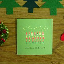 크리스마스카드 - 캔들