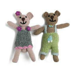 Mini Teddy Bear Girl & Boy