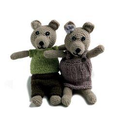 Beige Bear Boy & Girl