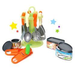 [레드박스] 주방조리기구와 캔따기 놀이세트