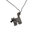 [Macon&Lesquoy] 마콩 자수목걸이_고양이