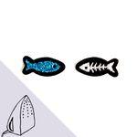 [Macon&Lesquoy] 마콩 자수패치_물고기(블루)