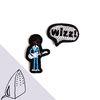 [Macon&Lesquoy] 마콩 자수패치_기타리스트와 wizz
