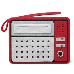 아이디어가 돋보이는 데스크정리함 - 라디오
