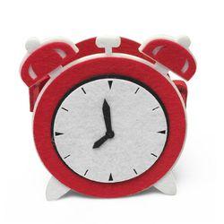 아이디어가 돋보이는 데스크정리함 - 시계