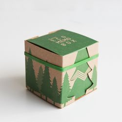 ECO MEMO BOX - forest