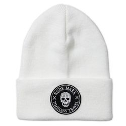 TIMELESS TRAVEL WATCH CAP (WHITE)