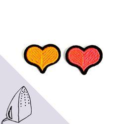 [Macon&Lesquoy] 마콩 자수패치_하트(플루오)