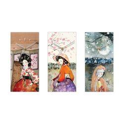 한국의 여인 벽시계