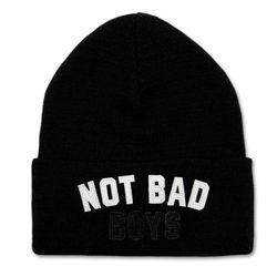 NOT BAD BOYS WATCH CAP (BLACK)