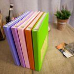 Color photo book-black(L)접착식 (화이트내지 25매)