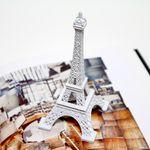 파리스 미니 에펠탑 화이트
