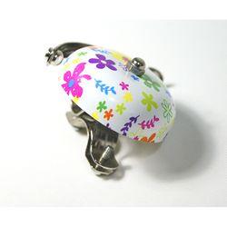 자전거 꽃무늬 벨 - 엘로