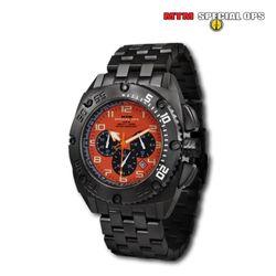 [MTM] MTM Black Patriot With Orange Dial - 엠티엠 블랙 페트리어트 위드 오렌지 다이얼