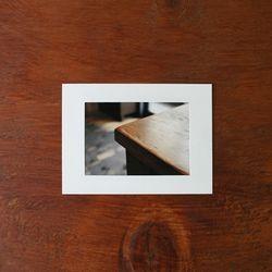 3x5 PHOTO FRAME (WHITE)