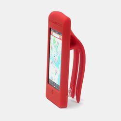 자전거용 핸드폰거치대 (아이폰5-레드)
