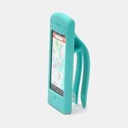 자전거용 핸드폰거치대 (아이폰5-하늘색)