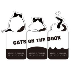 cats on the books-고양이북마크(유기묘후원)