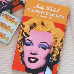펀스티키노트-Andy Warhol-Marilyn