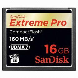 [샌디스크] Extreme Pro CF 16GB 초고속160MBs 4K 비디오촬영가능