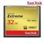 [샌디스크] Extreme CF 32GB 120MBs Full HD비디오 4K비디오캡쳐