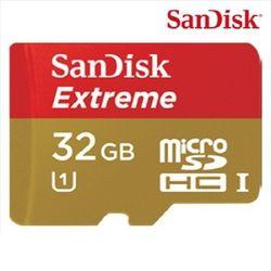 [샌디스크] EXTREME Micro SDHC 32GB (class10) UHS-1 MLC타입 블랙박스전용 메모리