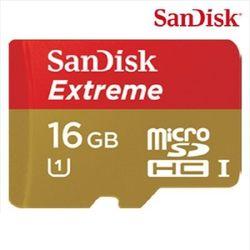 [샌디스크] EXTREME Micro SDHC 16GB (class10) UHS-1 MLC타입 블랙박스전용 메모리