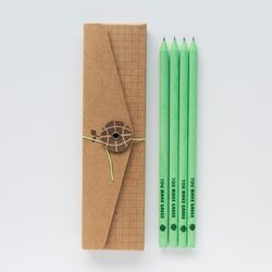 PAPER PENCIL - make green