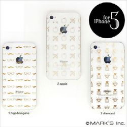 [Marks] 아이폰5 금색 패턴 케이스