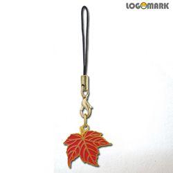 붉은단풍잎 핸드폰줄
