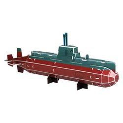 물 속을 누비며 항행하는 비밀병기 잠수함