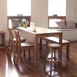 원목엘더6인세트 2 (6인테이블+6인벤치+의자2개)