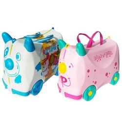[WORLD]붕붕카 겸용 어린이 여행가방