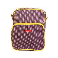 [bakker] 캔버스 크로스백_flots purple