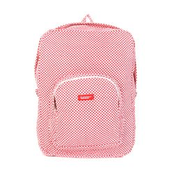 [bakker] Canvas Backpack_L_treille rouge