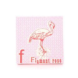 [bakker] LETTER PRIME_F_Flamant rose
