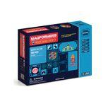 맥포머스 스쿨시리즈 110 PCS [대형퍼즐판+조형북2종+워크북2종+정리함 포함]