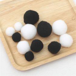 흑백 뽕뽕(솜방울)