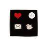 [Macon&Lesquoy] 마콩 자수브로치 SET_Love letter