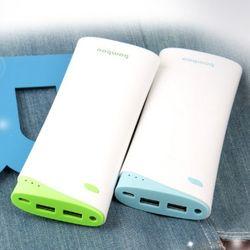 [ITK] 정품 Bamboo 18000mAh 초고속 휴대용 충전기 동시에 2대 충전 삼성SDI 배터리탑재