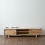 ASH ROUND TV STAND