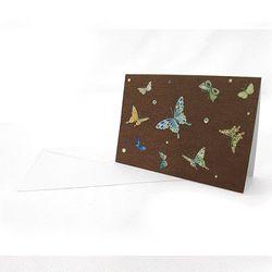 나비 자개카드